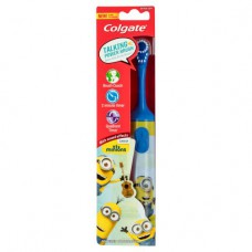 Colgate Kids Minions Talking Battery Powered Toothbrush  Blue Handle